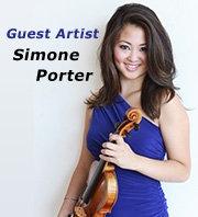 Guest artist Simone Porter